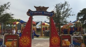 The Circus-Themed Playground In Florida That's Loads Of Fun