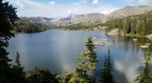 The Underappreciated Forest In Wyoming That's Home To Dozens Of Heavenly Lakes
