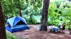 The River Campground In Texas Where You'll Have An Unforgettable Tubing Adventure