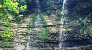 Take This Easy Trail To An Amazing Triple Waterfall In Arkansas