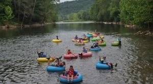 The River Campground In West Virginia Where You'll Have An Unforgettable Tubing Adventure