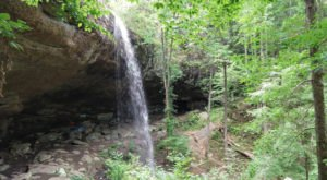 This Easy Breezy Waterfall Hike In Alabama Is A Must-Do For Nature Lovers