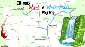 Take A Day Trip To The Best Wine And Waterfalls In Illinois