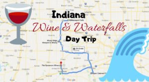 This Day Trip Will Take You To The Best Wine And Waterfalls In Indiana