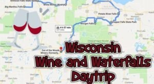 This Daytrip Will Take You To The Best Wine And Waterfalls In Wisconsin