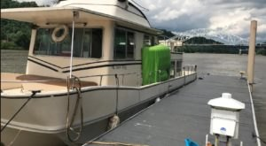 Get Away From It All With A Stay In This Incredible Pittsburgh Houseboat