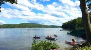 Visiting This One Mountain Lake In Massachusetts Is Like Experiencing A Dream