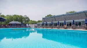 This Rhode Island Restaurant With Its Very Own Pool Is A Summer Dream Come True