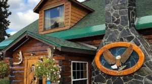 Visit This Beautiful Alaskan Log Lodge Tucked Away In A National Forest