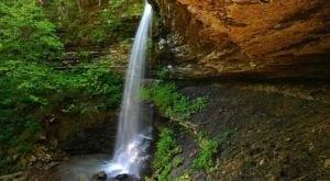 This Less-Than-A-Mile Trail Will Take You To Two Gorgeous Arkansas Waterfalls