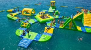 This Giant Inflatable Water Park In New Mexico Proves There's Still A Kid In All Of Us