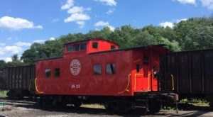 Enjoy Epic Scenery From Your Very Own Private Caboose Ride In Maryland