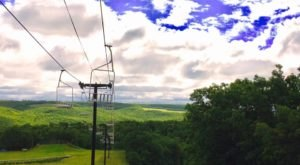 The North Dakota Ski Area That Turns Into A Recreational Getaway In Summer