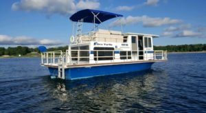 Spend The Night On The Water In This Wonderfully Cool Houseboat In Michigan