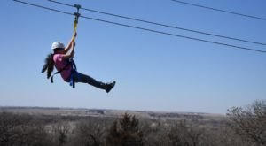Soar Over Prairies And Through The Woods On This Thrilling Zip Line Tour In Nebraska
