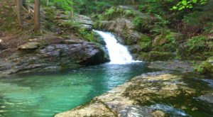 Hike To An Emerald Lagoon On This Easy Trail In Maine