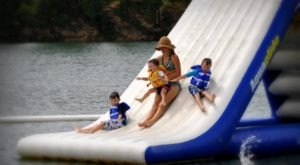 This Giant Inflatable Water Park Near New Orleans Proves There's Still A Kid In All Of Us