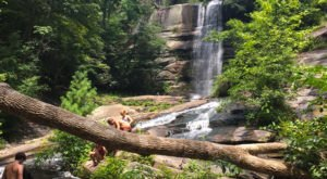 Take This Easy Trail To An Amazing Double Waterfall In South Carolina