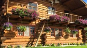 Enjoy The Wilderness At This Lakeside Alaskan Lodge Located In The Arctic Circle