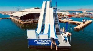 The World's Tallest Floating Waterslide Is In Arizona And It Belongs On Your Summer Bucket List