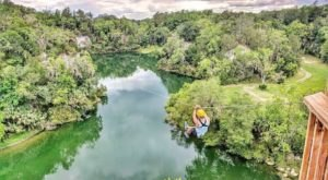 Some Of The Highest And Longest Zip Lines In Florida Can Be Found At This One Awesome Adventure Park