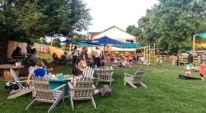 This Nashville Restaurant Has The Perfect Backyard For A Summer Night