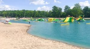 This Giant Inflatable Water Park In Ohio Proves There's Still A Kid In All Of Us