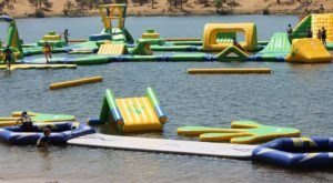 This Giant Inflatable Water Park In Northern California Proves There's Still A Kid In All Of Us