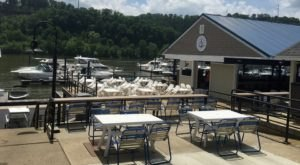 You'll Never Want To Leave This Enchanting Waterfront Restaurant Near Pittsburgh