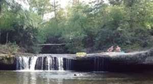 You'll Want To Spend All Day At This Waterfall-Fed Pool In Mississippi