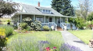 You Can Spend The Night In An Old Farmhouse At This Peaceful Washington Vineyard