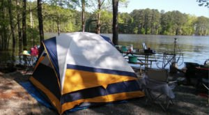 This North Carolina Campground Transforms Into A Small Town During The Summer Months