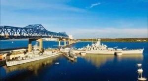 There's Nothing Else Like This Massive Floating Battleship Museum In Massachusetts