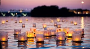 The Water Lantern Festival In North Carolina That's A Night Of Pure Magic