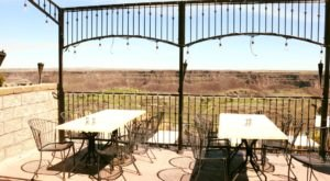 You Can Dine On The Rim Of A Canyon When You Visit This Extraordinary Restaurant In Idaho