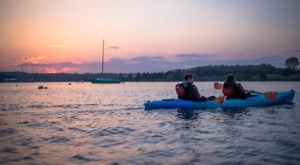 Take A Full Moon Kayak Tour To See Rhode Island In A Whole Different Light