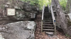 Hike To An Abandoned Village At Shawnee National Forest In Illinois
