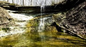 The Hike To This Little-Known Indiana Waterfall Is Short And Sweet