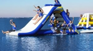 This Giant Inflatable Water Park In Vermont Proves There's Still A Kid In All Of Us