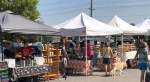 You Could Spend Hours At This Giant Outdoor Marketplace In Illinois