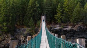 7 Out-Of-This World Hikes In Montana That Lead To Fairytale Foot Bridges