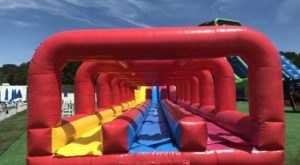 This Giant Inflatable Water Park In Massachusetts Proves There's Still A Kid In All Of Us