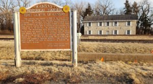 Visit The Very First Kansas Capitol In This Town That No Longer Exists