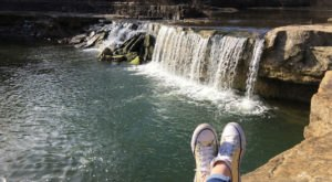 The Secret Waterfall In Kansas That Most People Don't Know About