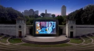 Watch A Movie Under The Stars At This Unique Outdoor Movie Theater In Nashville