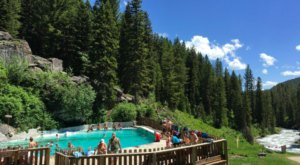This Man Made Swimming Hole In Wyoming Will Make You Feel Like A Kid On Summer Vacation