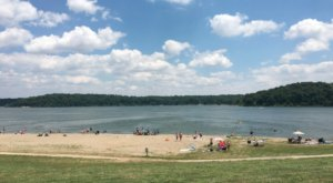 Visit The Oldest Public Beach Near Cincinnati For A Day Of Timeless Fun