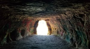 Hiking To This Aboveground Cave In Minnesota Will Give You A Surreal Experience
