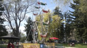 Your Kids Will Have A Blast At This Miniature Amusement Park In Idaho Made Just For Them