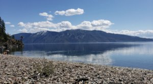 Idaho's Rockiest Beach Is Full To The Brim With Rugged Beauty